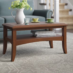 Cripe Antique Walnut Coffee Table By Charlton Home