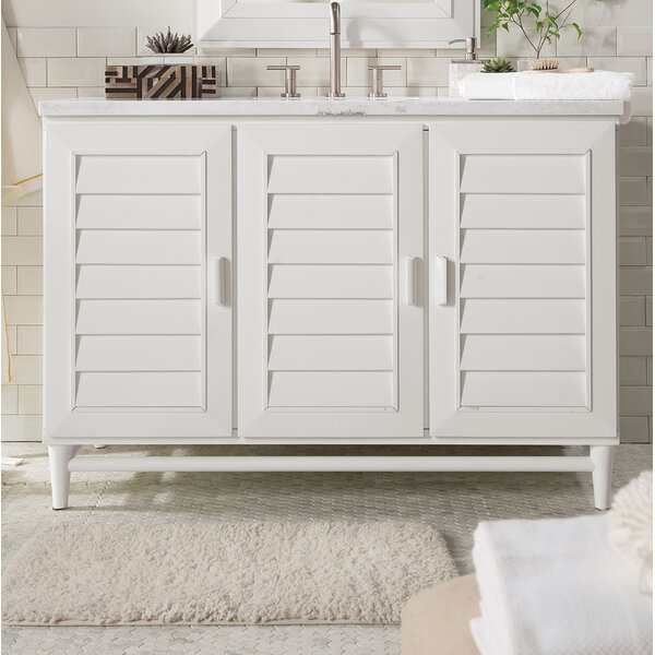 Neuhaus 48 Single Bathroom Vanity Set by Beachcrest Home
