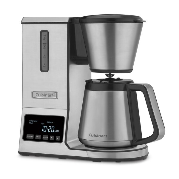 8-Cup Thermal Pure Precision Pour Over Coffee Maker by Cuisinart