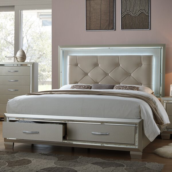 Quattlebaum Upholstered Storage Platform Bed by Harriet Bee