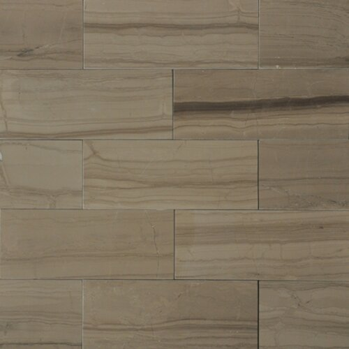 3 x 8 Marble Wood Tile in Yves Rocard by The Bella Collection