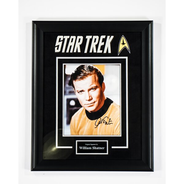 Star Trek Framed Autographed  Photograph by LuxeWest
