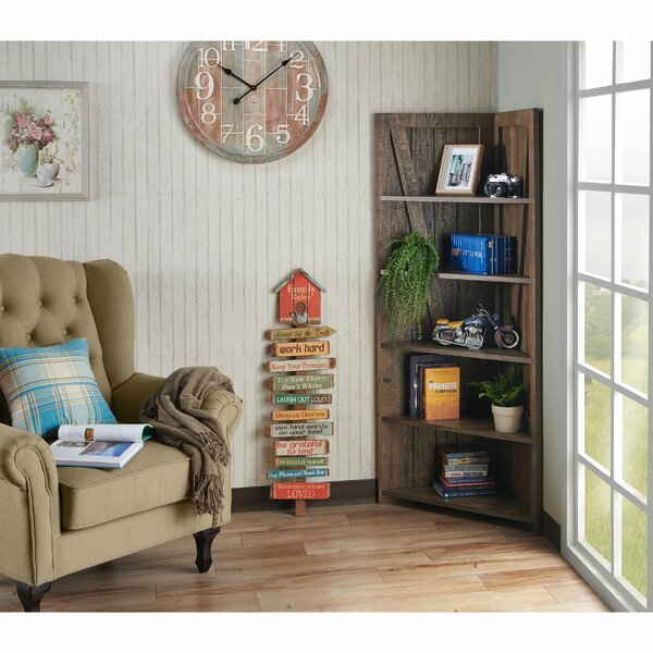 Scarbrough Ralph Corner Bookcase By Millwood Pines