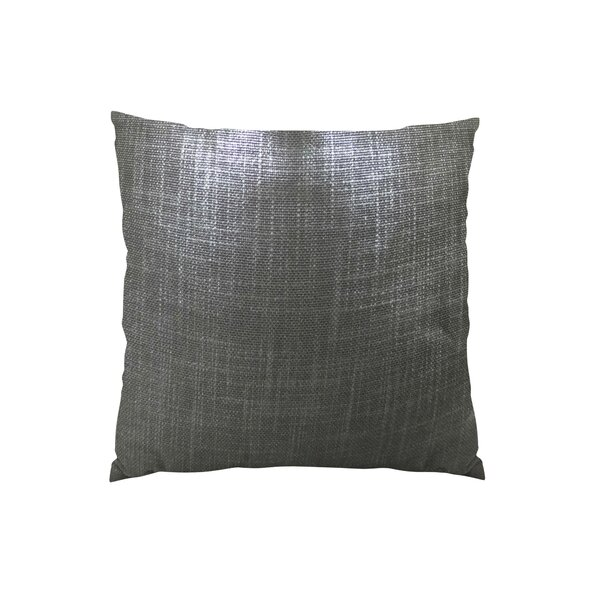 Glazed Linen Indigo Handmade Throw Pillow by Plutus Brands