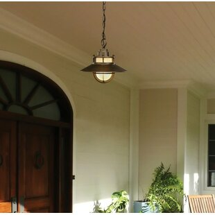 Affordable Waterton 1-Light Outdoor Pendant By Breakwater Bay