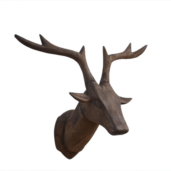 Walter Interior Decor Reindeer Bust by Union Rustic