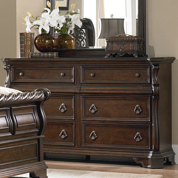 Kate 6 Drawer Double Dresser by Astoria Grand