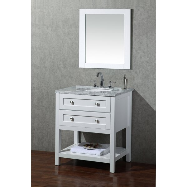 Whaley 30 Single Sink Bathroom Vanity Set with Mirror by Brayden Studio