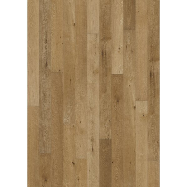 Canvas 5 Engineered Oak Hardwood Flooring in Nuback by Kahrs