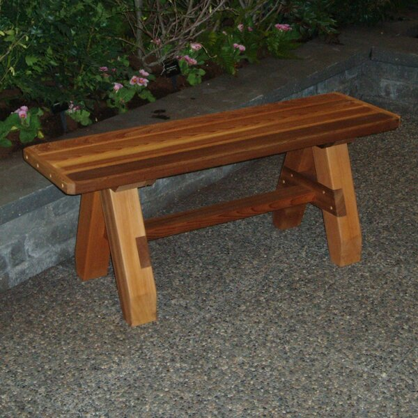 Braymer Picnic Bench by August Grove