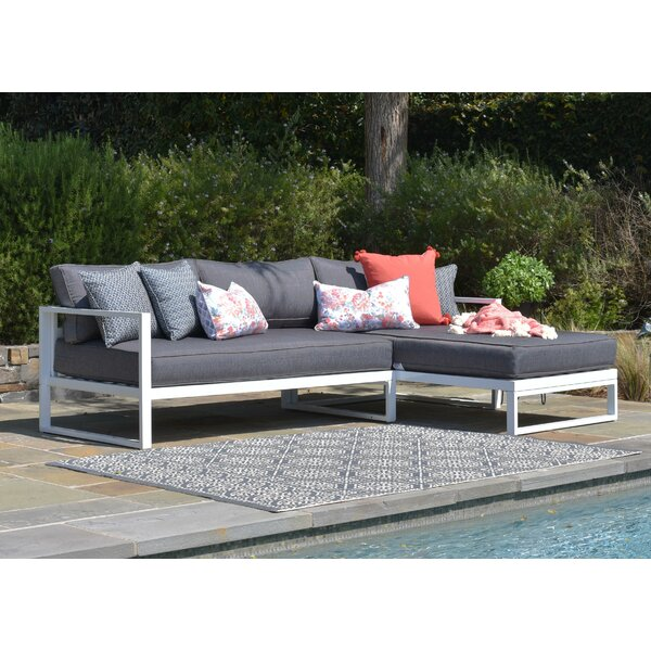 Paloma Sectional with Cushions by Elle Decor