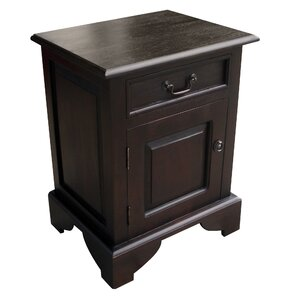 Dhevta 1 Drawer Nightstand by NES Furniture
