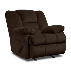 Mendes Manual Rocker Recliner by Simmons Upholstery by Darby Home Co