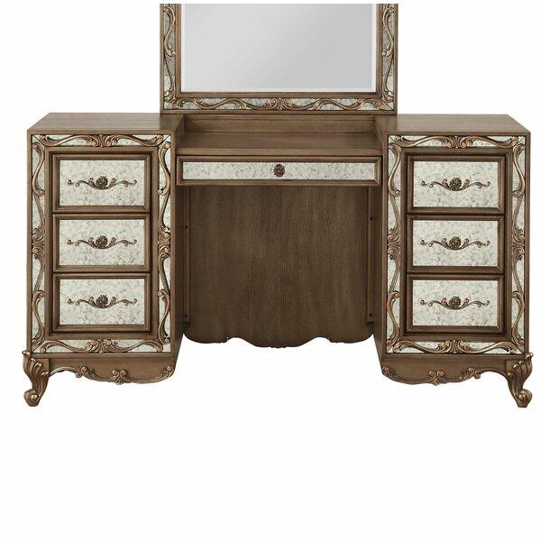 Hogan Vanity Desk by Rosdorf Park