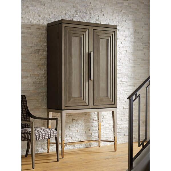 Ariana Cheval 2 Door Bar Cabinet by Lexington Lexington