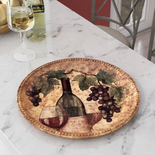 Aldergrove Round Platter by Fleur De Lis Living
