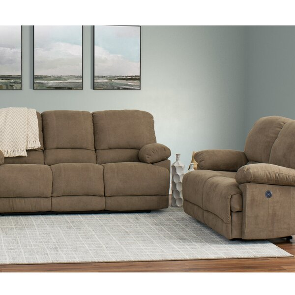 Condron Reclining 2 Piece Living Room Set (Set of 2) by Red Barrel Studio