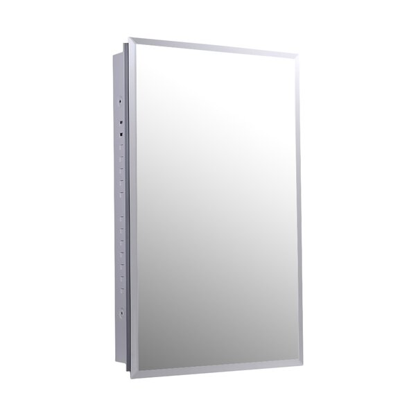 Ahmed 16 x 30 Recessed Medicine Cabinet by Ebern Designs