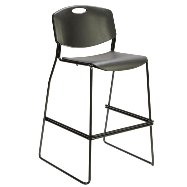 Anurag Café Height Industrial Stool by 17 Stories
