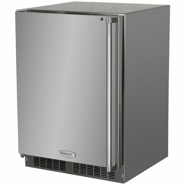 Outdoor 24-inch 3.9 cu. ft. Undercounter Refrigeration with Freezer by Marvel