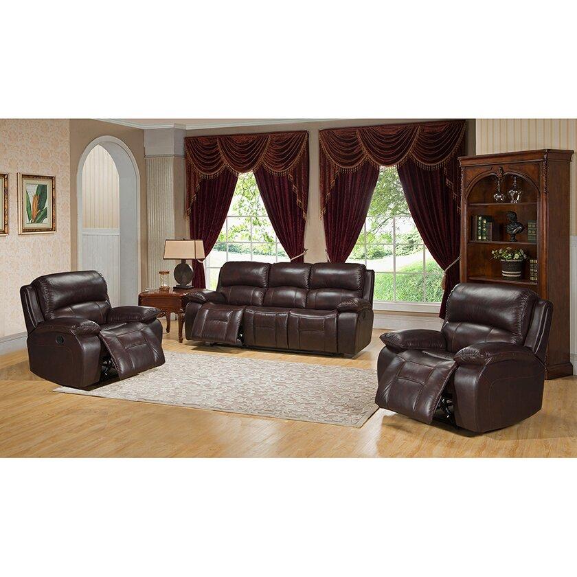 Red Barrel Studio Hutsonville 3 Piece Living Room Set  Wayfair.ca