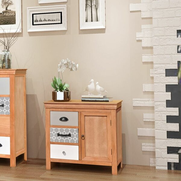 Kayaan 3 Drawer Combi Chest by Bungalow Rose