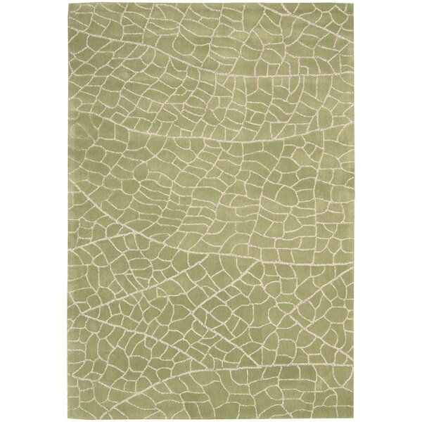 Imhoff Hand-Tufted Kiwi Area Rug by Brayden Studio