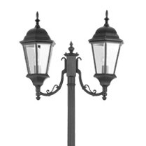 Wilkesville Outdoor 2-Light 85.75 Post Light by Darby Home Co