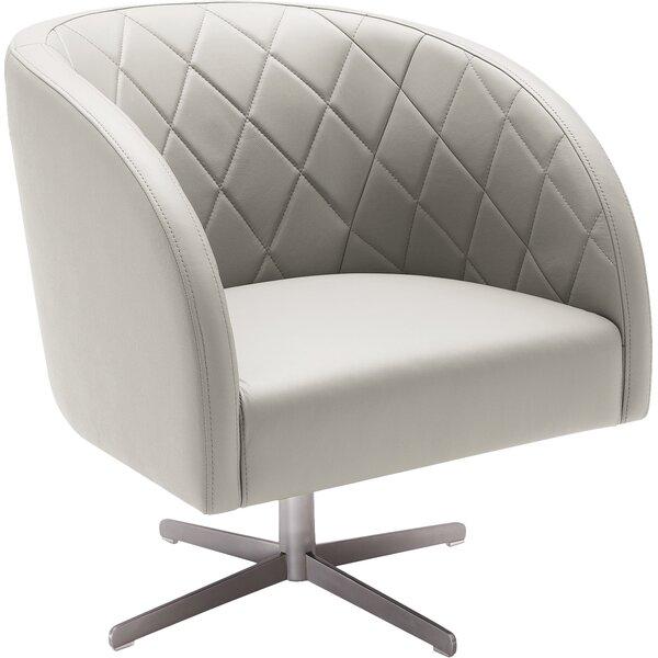 Taro Swivel Barrel Chair By Brayden Studio