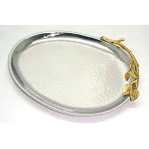 Gilt Leaf Platter by Heim Concept