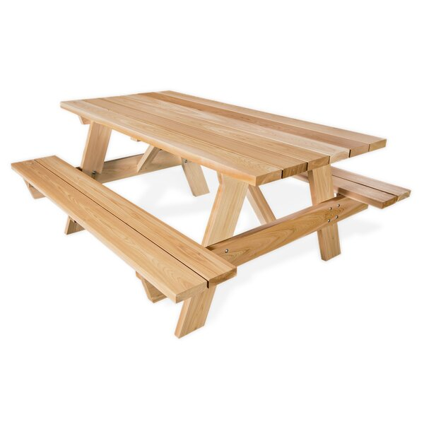 Armes Picnic Table by Union Rustic