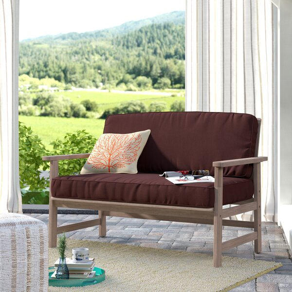Englewood Loveseat with Cushions by Beachcrest Home Beachcrest Home