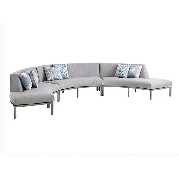 Del Mar Sectional with Cushions