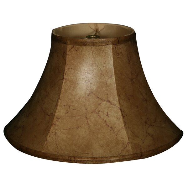 Timeless 13 Faux Leather Bell Lamp Shade by Royal Designs