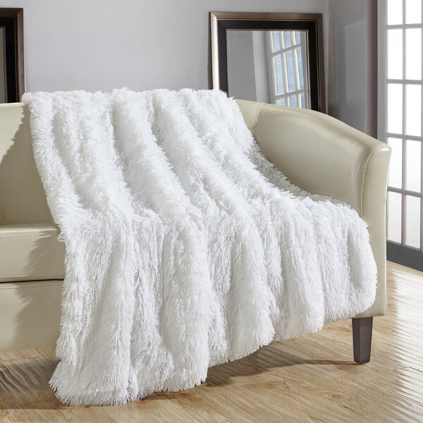 Kostya Shaggy Supersoft Ultra Plush Decorative Throw Blanket by Willa Arlo Interiors
