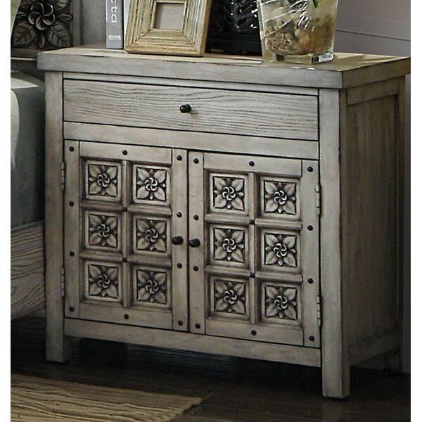 Cali 1 Drawer Nightstand by Rosdorf Park