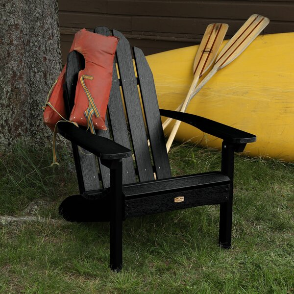 Hamptonburgh Essential Plastic Adirondack Chair by Beachcrest Home