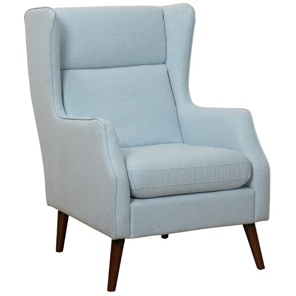 Cendejas Wingback Chair By Latitude Run Savings