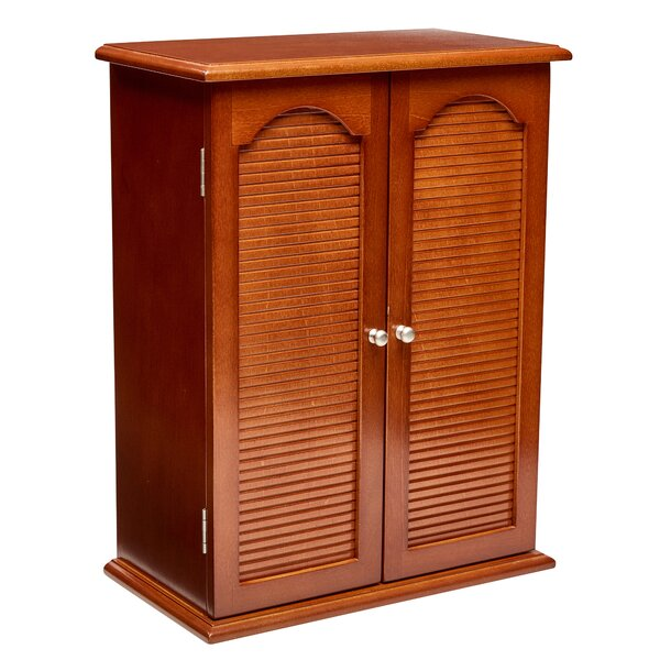 Johannes Wooden Free Standing Jewelry Armoire by Charlton Home