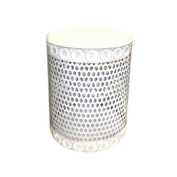 Metal Stool by ESSENTIAL DÉCOR & BEYOND, INC