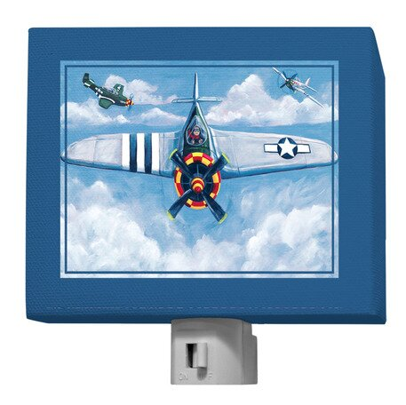 Airplane Night Light by Oopsy Daisy