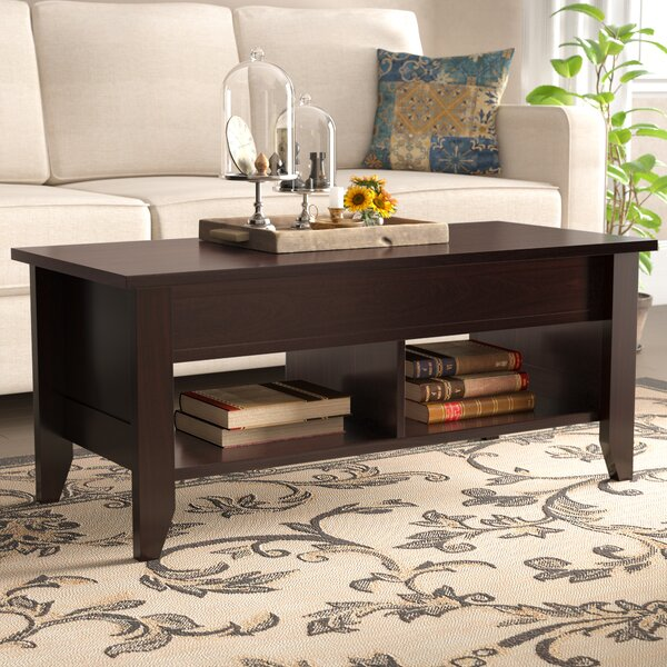 Revere Lift Top Coffee Table with Storage by Andover Mills Andover Mills