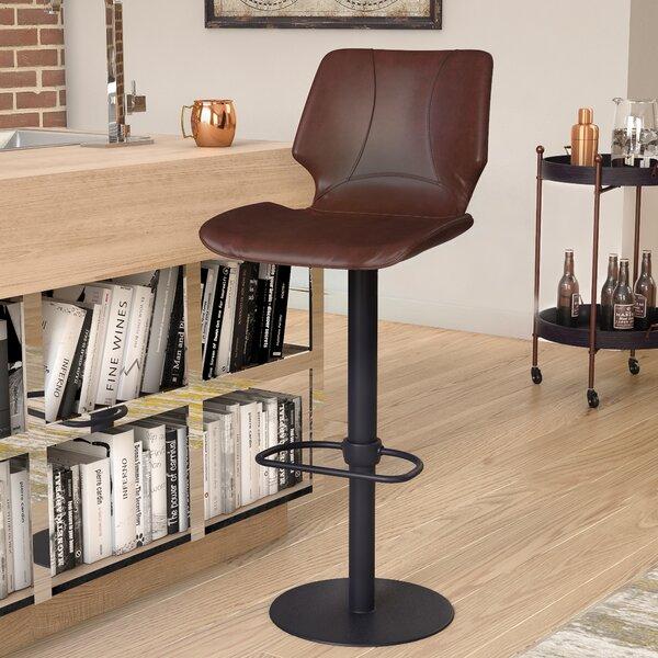 Oklahoma Adjustable Height Swivel Bar Stool by Trent Austin Design