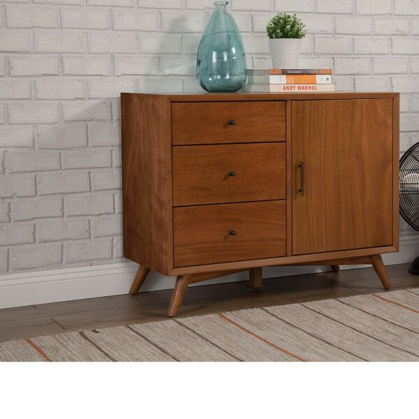 Hinsdale Wood 3 Drawer Accent Cabinet by George Oliver George Oliver