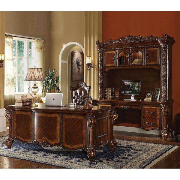 Orizaba Desk with Hutch 3 Piece Set