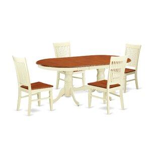 Pilcher 5 Piece Extendable Dining Set ByAugust Grove