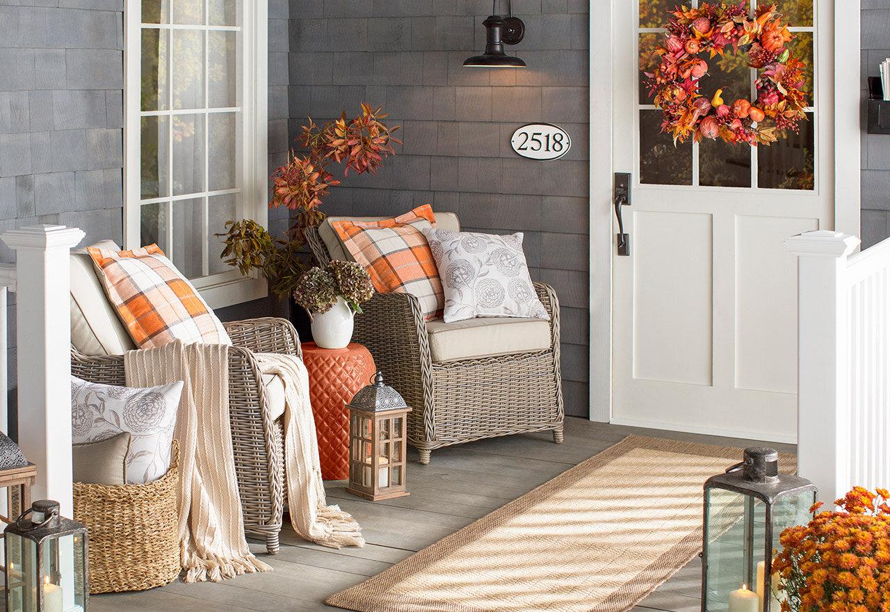 Outdoor Fall Decor Ideas For Every Home Wayfair