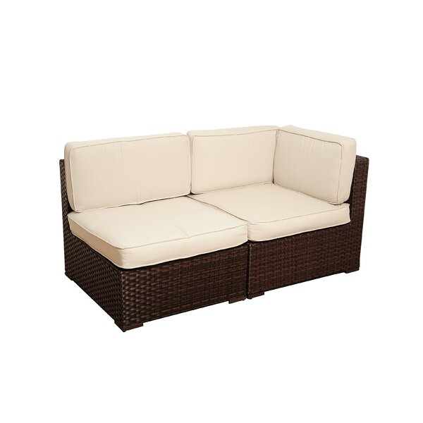 Neo Corner Sectional Seat with Cushions by Beachcrest Home