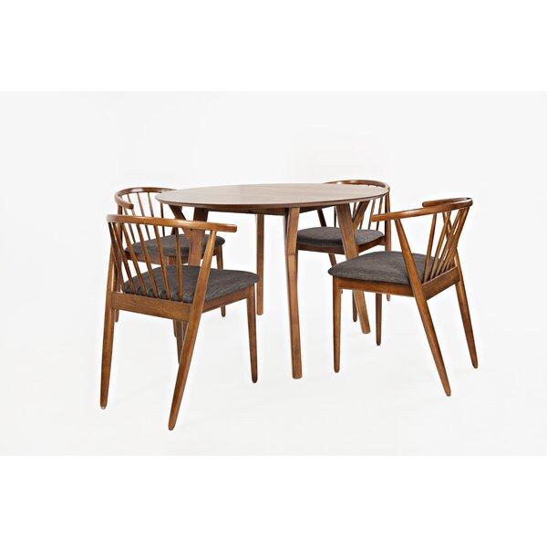 Holzman 5 Piece Dining Set by Union Rustic Union Rustic