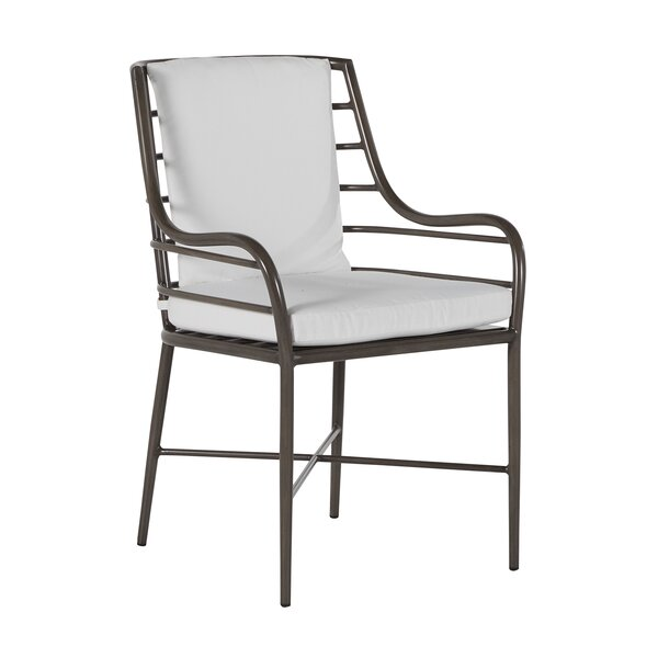 Carmel Patio Dining Chair with Cushion by Summer Classics